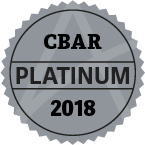 2018 cbar platinum award
